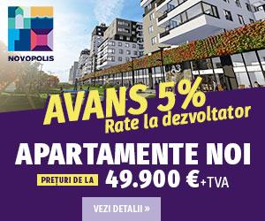 Apartamente noi la cheie - Novopolis Constanța